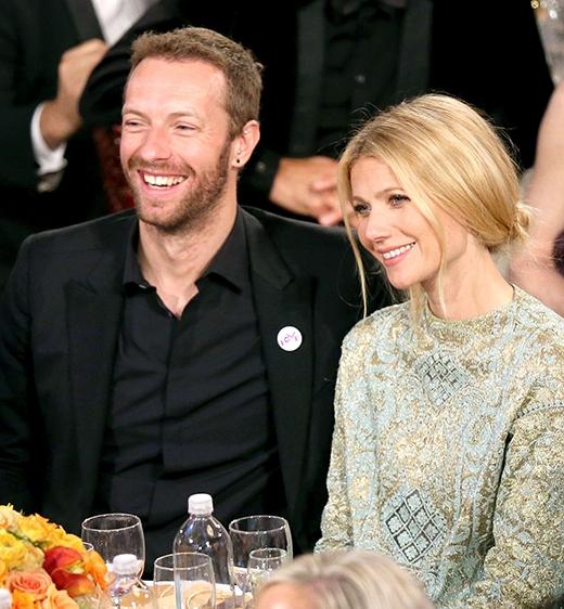 Chris và vợ cũ - nữ diễn viên nổi tiếng Gwyneth