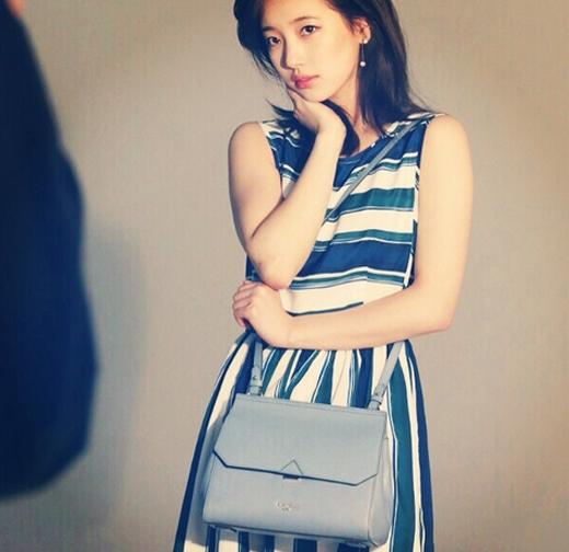 Suzy quyến rũ và thu hút trong hậu trường chụp ảnh thời trang