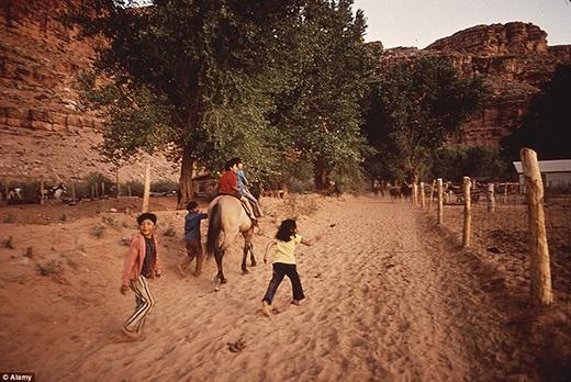Độ tuổi trung bình của bộ lạc là 24,8 năm. Người dân ở đây cho rằng họ có được sức mạnh từ đất, và đất là một phần linh thiêng trong đời sống tín ngưỡng của cư dân bản xứ.