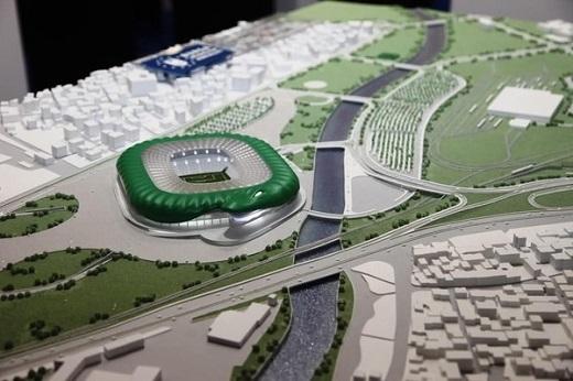 Timsah Arena là sân nhà mới của CLB Bursaspor (Thổ Nhĩ Kỳ).