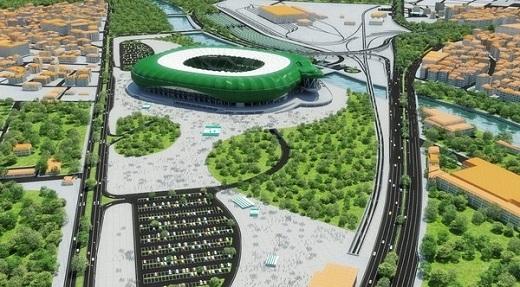 Với hình dáng mô phỏng một con cá sấu xanh – biệt danh của đội bóng, Timsah Arena được coi là một trong những SVĐ có kiến trúc độc đáo nhất làng túc cầu.