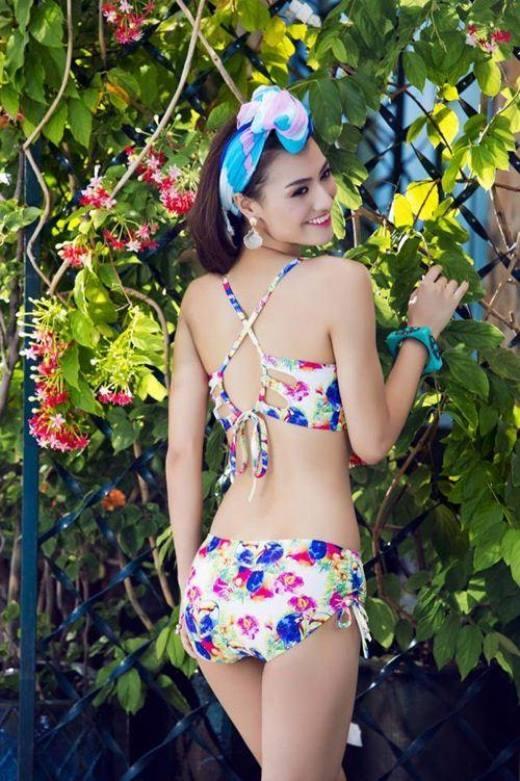 Nóng bỏng mắt khi hot girl Việt xinh đẹp diện bikini cực quyến rũ