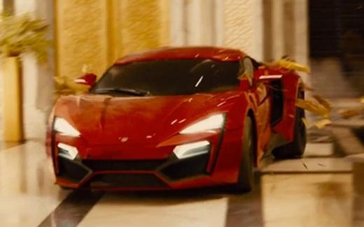 Chiêm ngưỡng siêu phẩm Lykan Hypersport trong Fast & Furious 7