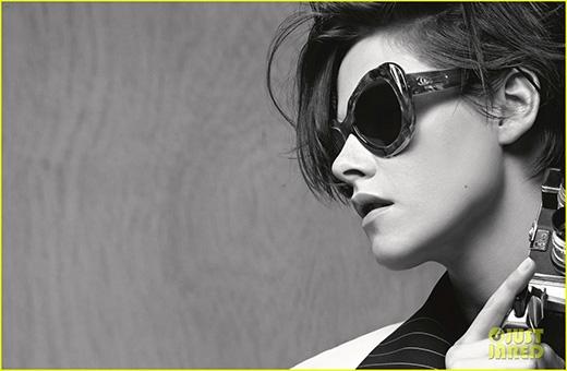 Fan thích thú với hình ảnh nam tính chất lừ của  Kristen Stewart