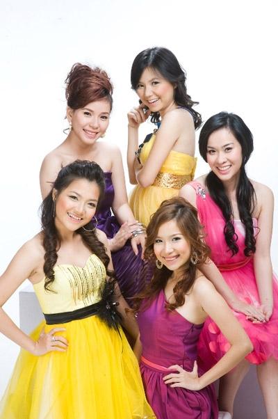 5 thành viên của Mắt Ngọc trong một lần chụp ảnh chung. - Tin sao Viet - Tin tuc sao Viet - Scandal sao Viet - Tin tuc cua Sao - Tin cua Sao