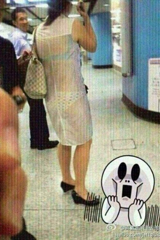 Tại sao cô ấy có thể diện được bộ trang phục này?