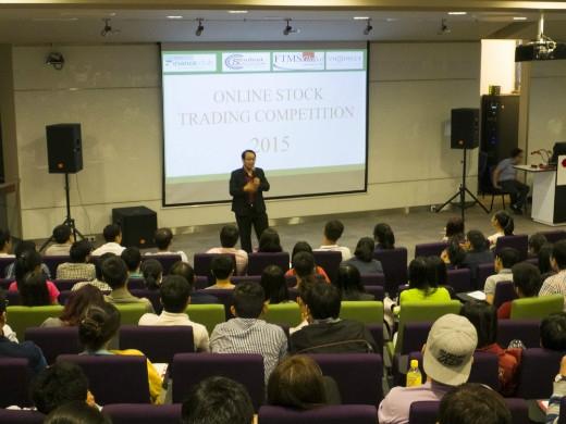 Anh Huỳnh Minh Tuấn – thuộc tổng công ty VNDIRECT với bài giới thiệu về một vài mưu mẹo và bí quyết để thành công trong lĩnh vực kinh doanh.