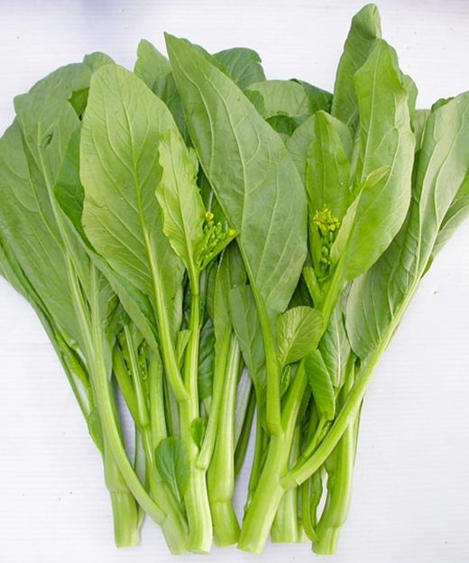 Rau cải nuột nà dễ bị phun thuốc kích phọt - Ảnh minh họa