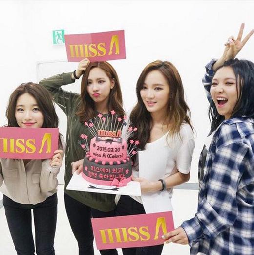 Hai thành viên Miss A không quan tâm với chuyện hẹn hò của Suzy