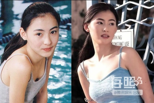 Trương Bá Chi đẹp tinh khôi từ thời 16, 17 tuổi.
