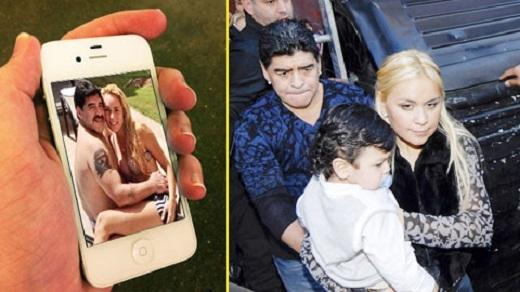 Veronica gián tiếp gây sức ép để Maradona quay về với mẹ con cô?