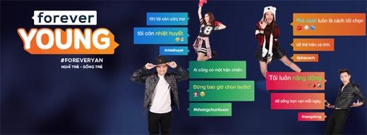 Những hình ảnh trẻ trung sôi nổi của chiến dịch mới trên YANTV