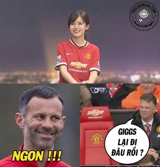 Giggs sang Việt Nam vì Tú Linh