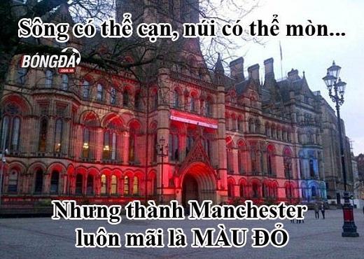 Man United vẫn luôn và mãi là Vua Manchester