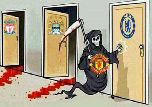 """""""Tử thần"""" Man Utd sẽ gọi tên Chelsea?"""