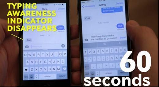 """Những điều thú vị chưa biết về biểu tượng """"đang trả lời tin nhắn"""" trên Iphone"""