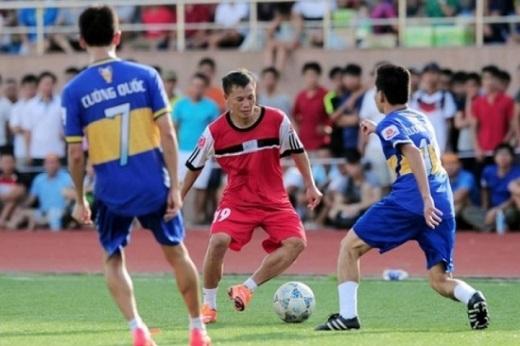 Sân chơi phong trào là nơi đầu tiên đã chắp cánh cho tài năng của Thành Lương. Ảnh: Tùng Lê