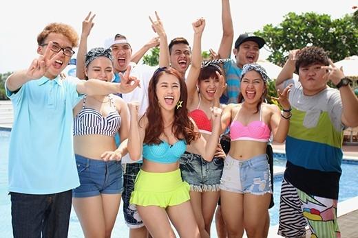Bạn đã sẵn sàng khuấy động nắng hè 2015 cùng biệt đội Chi Pu và Tronie ?