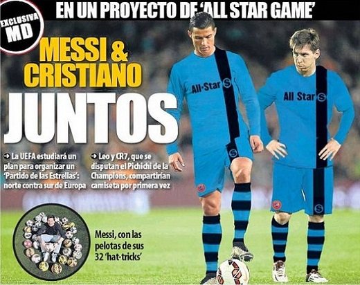 Nóng: Messi và Ronaldo sắp về chung một đội