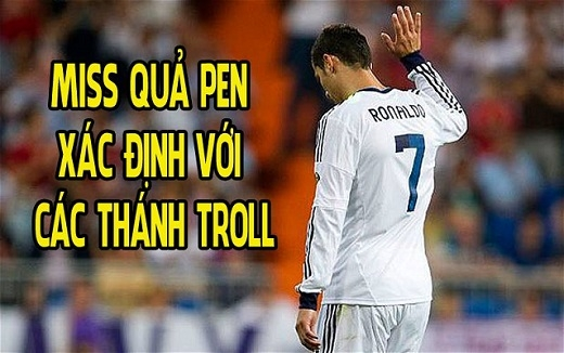 Miss quả Pen, Ronaldo sợ dân chế
