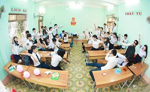 Những khoảnh khắc tinh nghịch tuổi học trò
