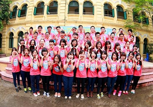 Những chiếc áo lớp đậm cá tính của học sinh Việt