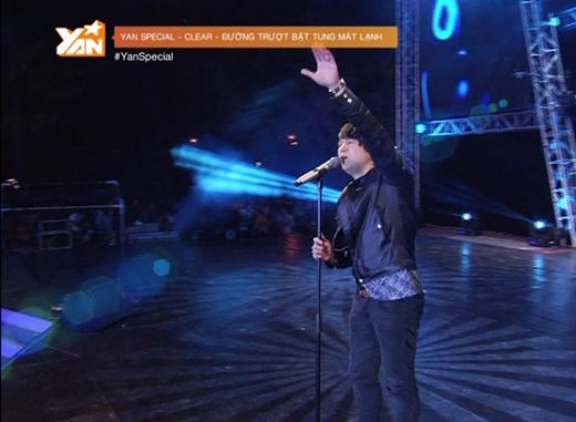 Giám khảo Thanh Bùi khuấy động sân khấu ngoài trời với hàng ngàn khán giả.