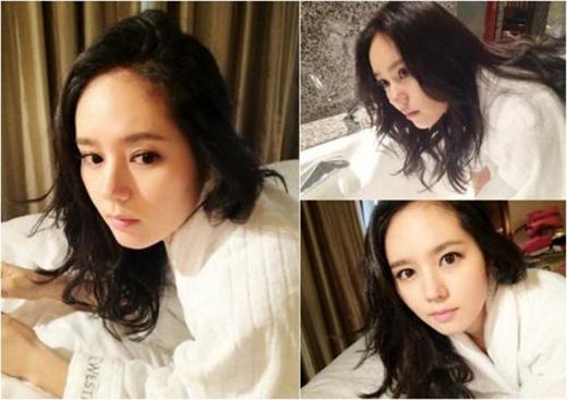 Han Ga In cực tươi trẻ ở tuổi 33