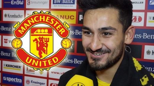 NÓNG: Ilkay Gundogan đồng ý đến Man Utd