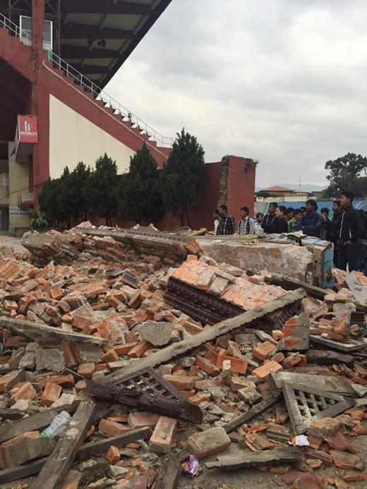 Cô gái Việt Nam kể lại 6 tiếng ở tâm động đất Nepal