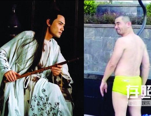 """Triệu Văn Tuyên từng được mệnh danh """"thư sinh đẹp nhất màn ảnh Hoa ngữ"""". Vẻ lãng tử của anh khiến anh nhanh chóng nổi tiếng. Đó đã là chuyện quá khứ khi ảnh của anh vào năm 2012 được công bố. Vóc dáng phì nhiêu, gương mặt già nua, Triệu Văn Tuyên đã không còn là diễn viên ăn khách khi gần như trở thành người khác."""