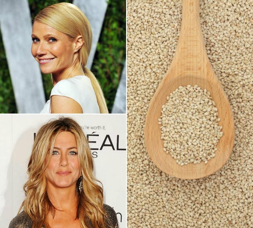 Quinoa - thực phẩm yêu thích Jennifer Aniston và Gwyneth Paltrow