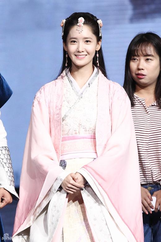 Bị chê xấu, Yoona bất ngờ 'hóa tiên' trong trang phục cổ trang
