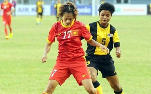 Thắng đậm Malaysia, ĐT nữ Việt Nam đặt một chân vào bán kết