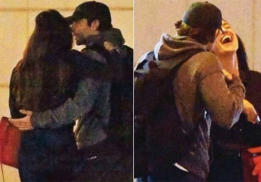 Theo những người chứng kiến, Irina và Cooper cùng nhau đi dạo khoảng 40 phút và họ liên tục ôm hôn nhau.
