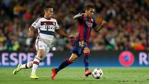 Barcelona thắng đậm Bayern Munich: Messi quá đẳng cấp