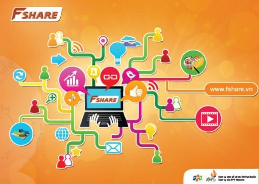 Gói dịch vụ truyền tải dữ liệu tốc độ cao tiện lợi của Fshare