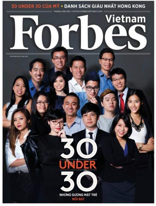 Một số gương mặt trong 30 ngôi sao dưới 30 tuổi