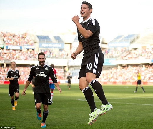 James Rodriguez: Real không sợ bất cứ đối thủ nào