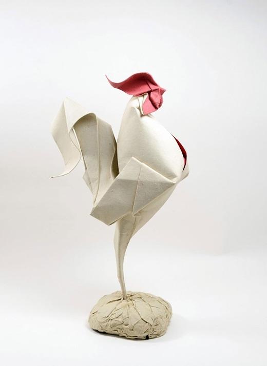 Choáng với vẻ sinh động từ hình xếp Origami độc đáo của nghệ sĩ Việt