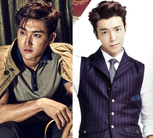"""Từ những ngày đầu ra mắt, Siwon đã nổi bần bật giữa các thành viên Super Junior nhờ chiều cao """"khủng"""" và gương mặt sáng. Donghae có phần """"lép vế"""" hơn về khoản chiều cao nhưng vẻ ngoài thừa khả năng cạnh tranh vị trí """"gương mặt đại diện"""" với Siwon."""