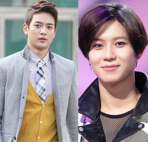 """Sở hữu chiều cao """"khủng"""" nhất SHINee, Minho mang vẻ đẹp nam thần vô cùng cuốn hút. Tuy vậy, cậu em út Taemin vẫn đang """"nhăm nhe"""" ngôi vị """"gương mặt đại diện"""" nhờ sự trưởng thành và vẻ ngoài nam tính theo năm tháng."""