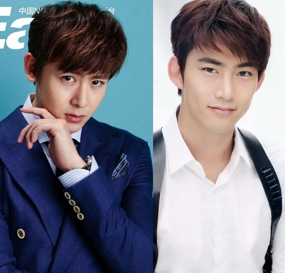 """Mang vẻ ngoài đậm chất Á Châu, quyến rũ, """"hoàng tử Thái"""" Nichkhun nghiễm nhiên nhận về ngôi vị """"gương mặt đại diện"""" của 2PM. Taecyeon với gương mặt gai góc và nụ cười hiền dịu được nhận xét không hề kém cạnh Nichkhun là bao."""