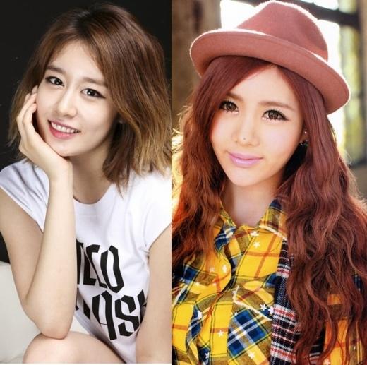 """Với danh hiệu """"tiểu Kim Tae Hee"""", có lẽ không có gì có thể bàn cãi về nhan sắc của Jiyeon từ những ngày đầu T-ara ra mắt. Cô chị Qri cũng không kém cạnh khi sở hữu nét quyến rũ riêng và nốt rồi trên mũi vô cùng duyên dáng."""