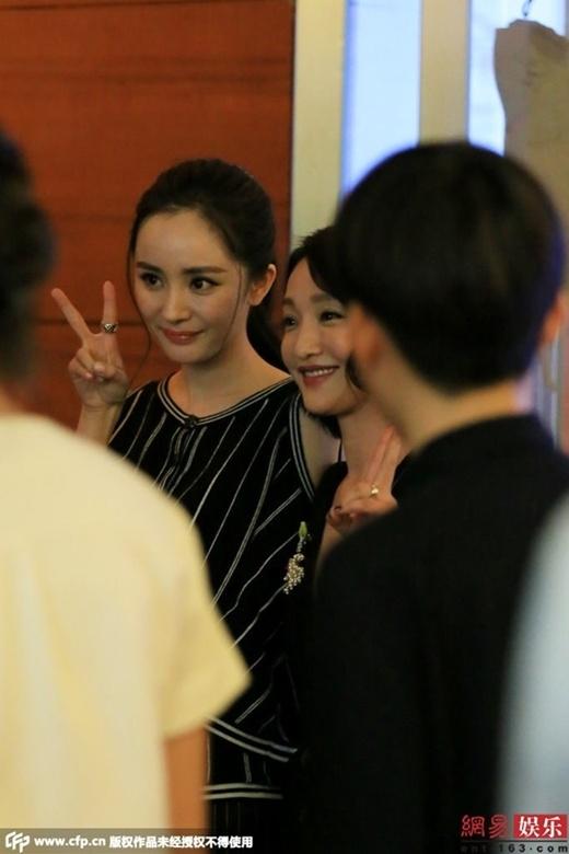 Dương Mịch lấy lại tinh thần thoải mái sau scandal bị làm nhục