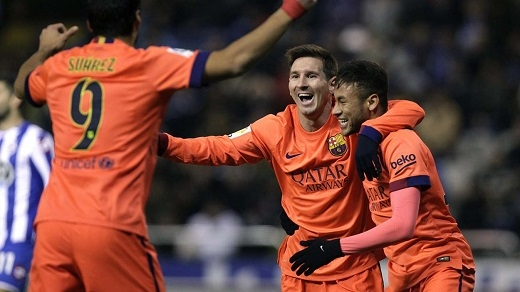 Barca có thể bán cả Messi, Neymar và Suarez