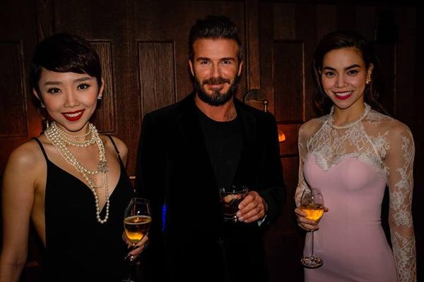 Hồ Ngọc Hà và Tóc Tiên lộng lẫy tại buổi tiệc tối cùng David Beckham - Tin sao Viet - Tin tuc sao Viet - Scandal sao Viet - Tin tuc cua Sao - Tin cua Sao