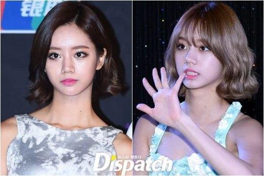 """Trái với vẻ sắc sảo thường thấy, """"mái ngố"""" giúp Hyeri (Girl's Day) khoe ra vẻ dịu dàng và nữ tính hơn hẳn."""