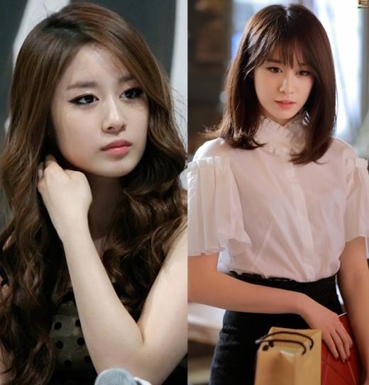 Trông Jiyeon (T-ara) như một cô bé ngây thơ, trong sáng sau khi tút tát lại mái tóc.