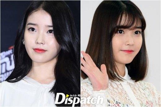 Không có gì bàn cãi khi IU hoàn toàn phù hợp với danh hiệu em gái quốc dân trước đây, thay đổi kiểu tóc giúp cô nàng trẻ trung trông thấy.